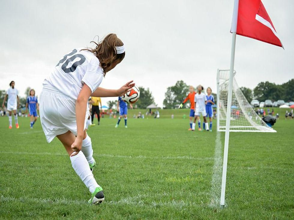 News Picture: Why Are Sports-Linked Concussions Rising Among Girls?