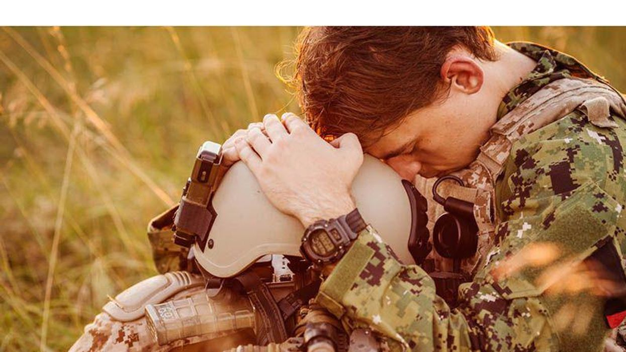 A ptsd dating veteran with The Definitive