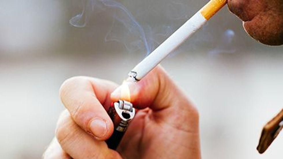 News Picture: Brain 'Zap' Treatment Might Curb Smoking