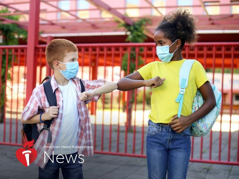 News Picture: AHA News: Protecting Children's Mental Health as They Head Back to School
