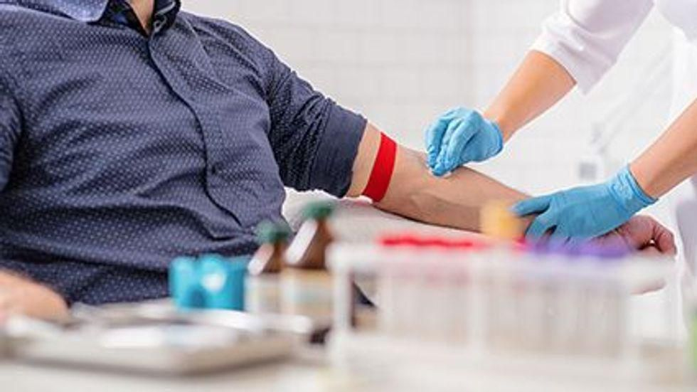 News Picture: Blood Test Spots Biological Markers for Schizophrenia