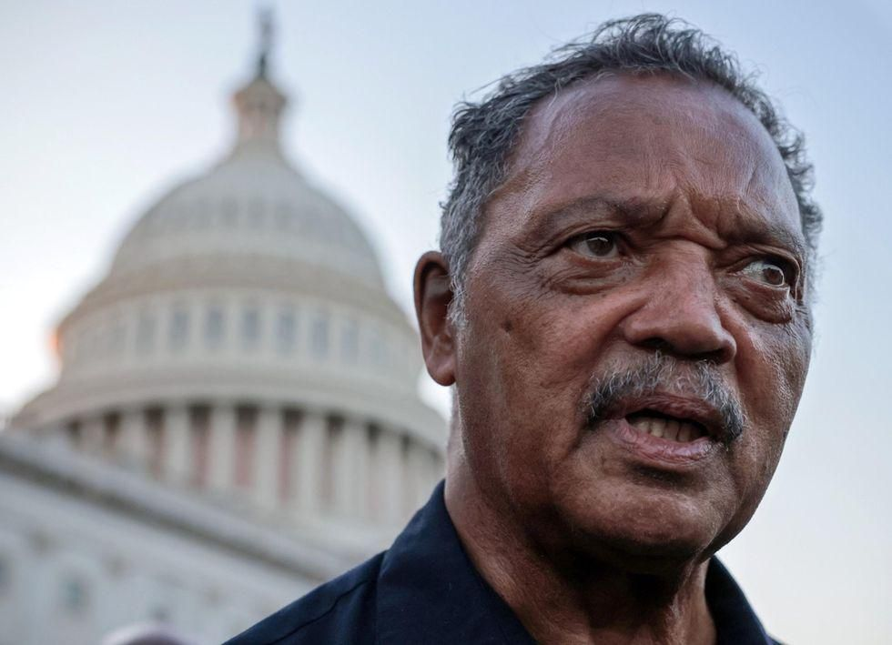 News Picture: Jesse Jackson, Wife Hospitalized With COVID