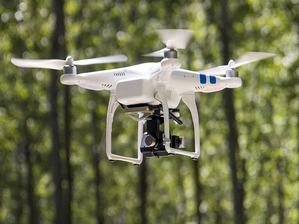 News Picture: Cardiac Arrest? Someday, Drones May Come to Save You