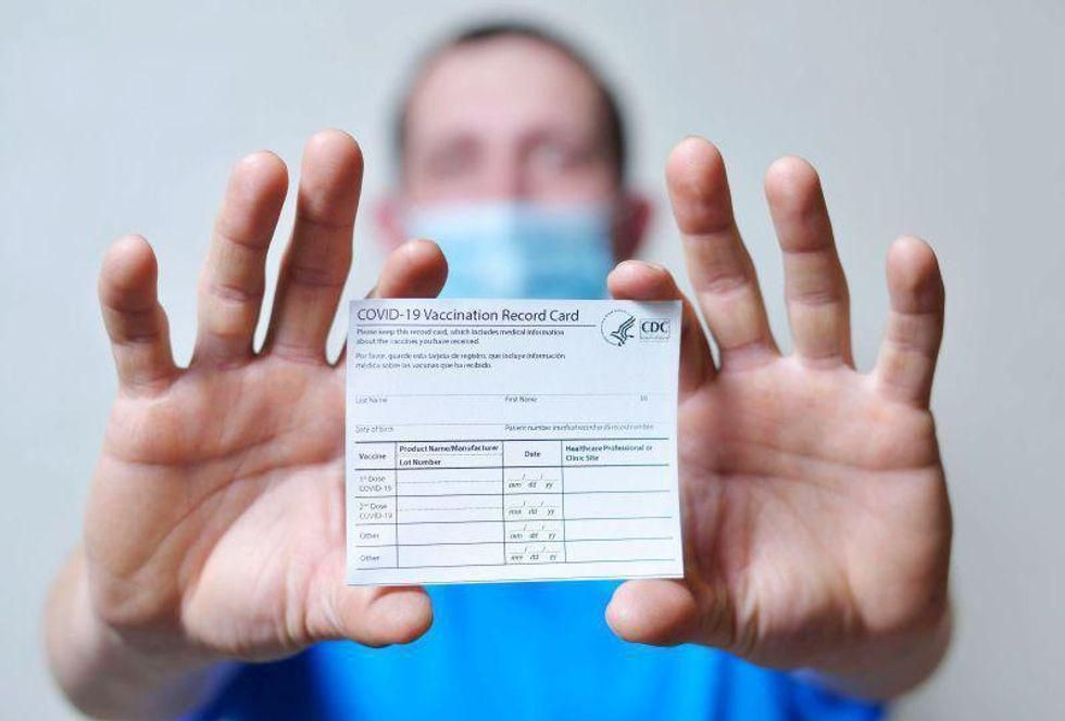 News Picture: All HHS Health Care Workers Must Now Get COVID Vaccines