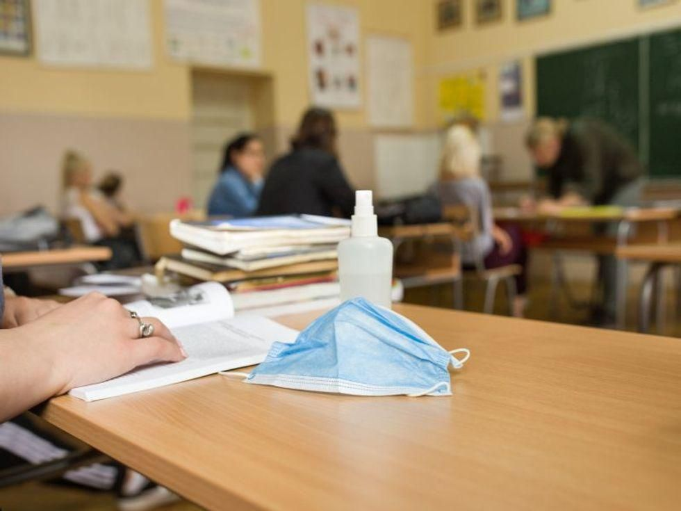 News Picture: Unvaccinated Teacher Infected Half of Students in Classroom: CDC Study