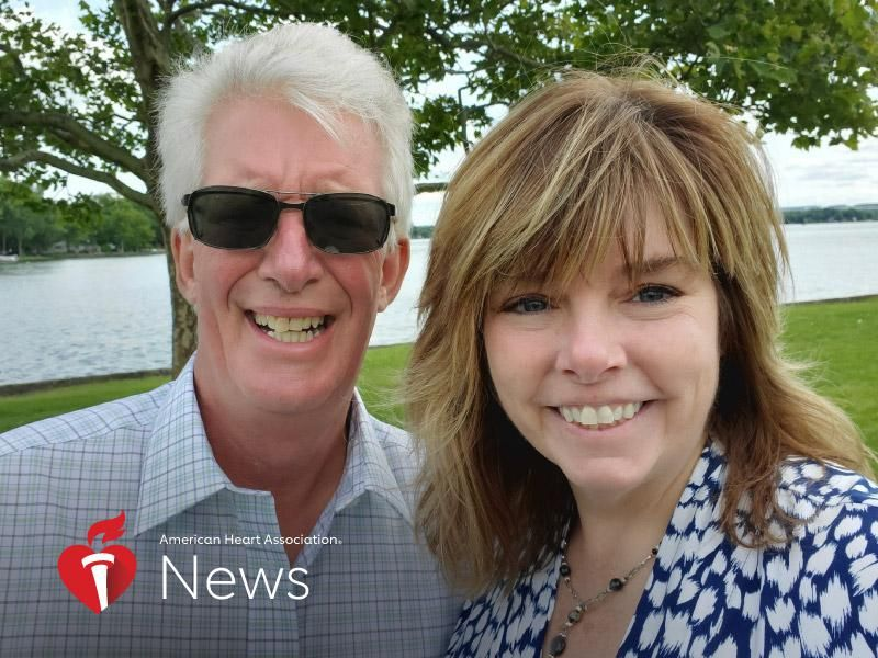News Picture: AHA News: New York Woman Who Saved Husband's Life Inspires Others to Learn CPR