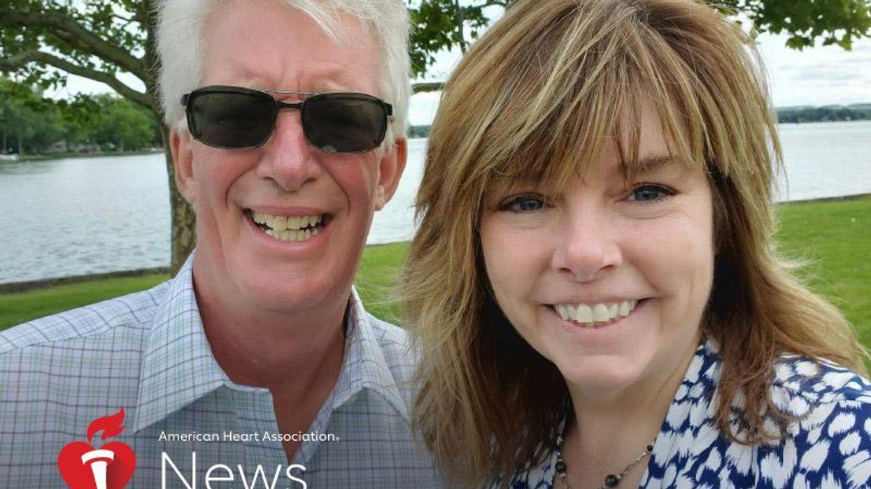 心肺蘇生の受講を勧める女性、きっかけは夫の救命体験――AHAニュース