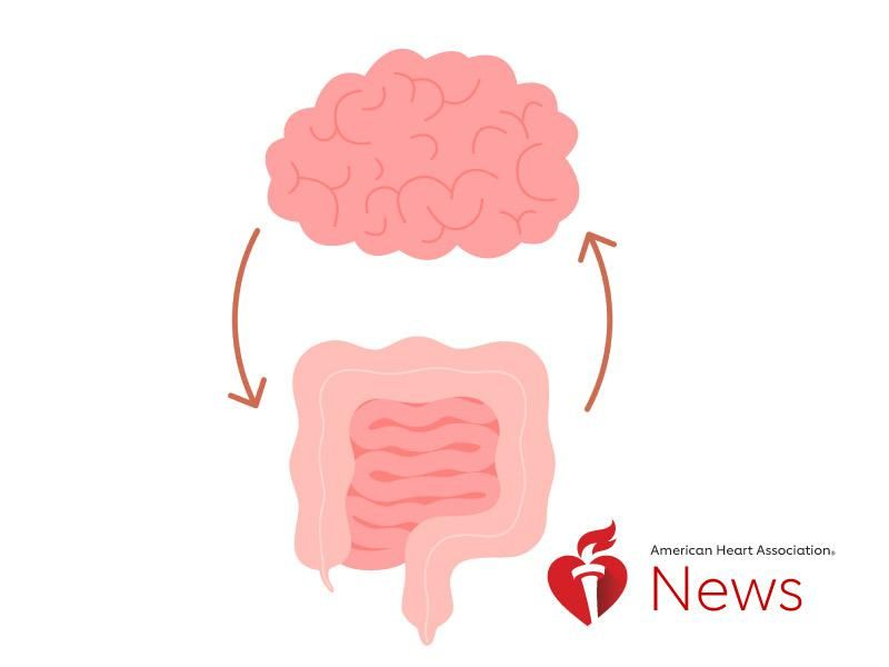 News Picture: AHA News: Clues to Brain Health May Lie in the Gut