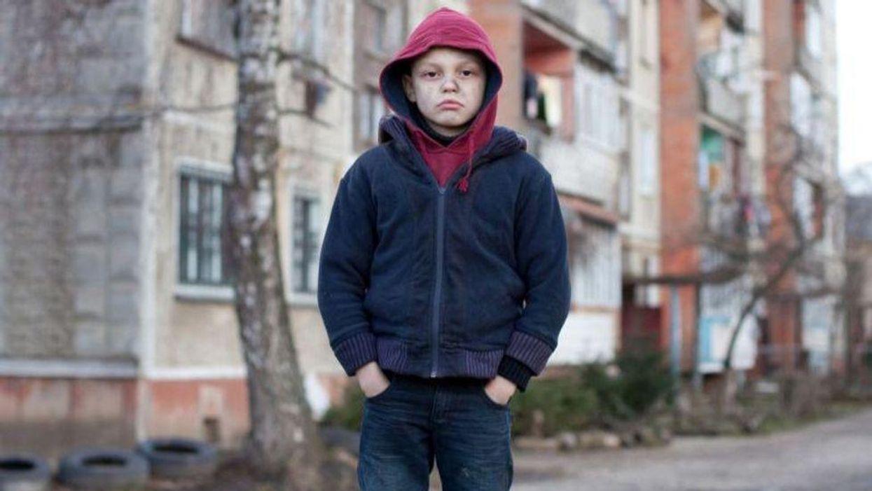 child poverty violence