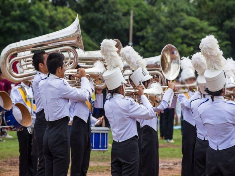 News Picture: Kids in Marching Bands Under Threat From Heat Illness