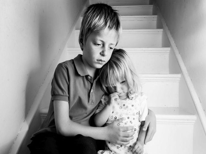 News Picture: Witnessing Abuse of a Sibling Can Traumatize a Child