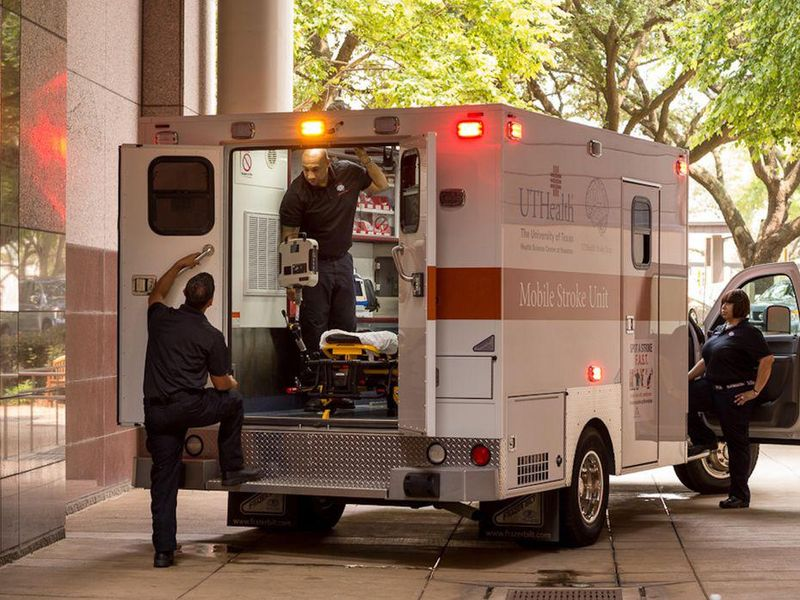 Time Is Brain: Mobile Stroke Units Reduce Disability, Study Finds
