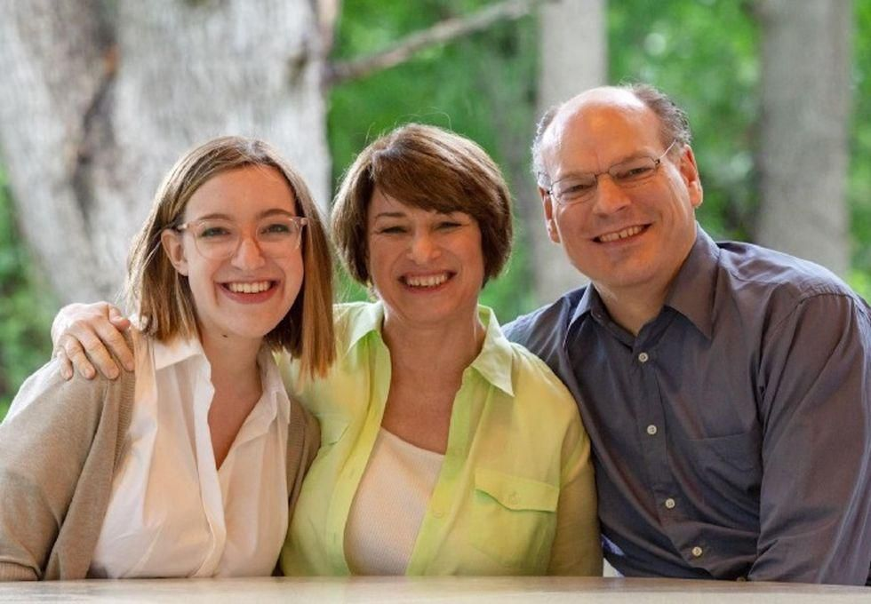 News Picture: Sen. Amy Klobuchar Treated for Breast Cancer