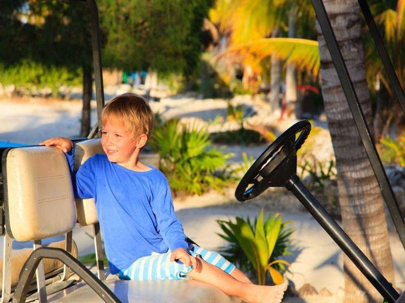News Picture: Golf Cart Injuries Keep Rising Among U.S. Kids