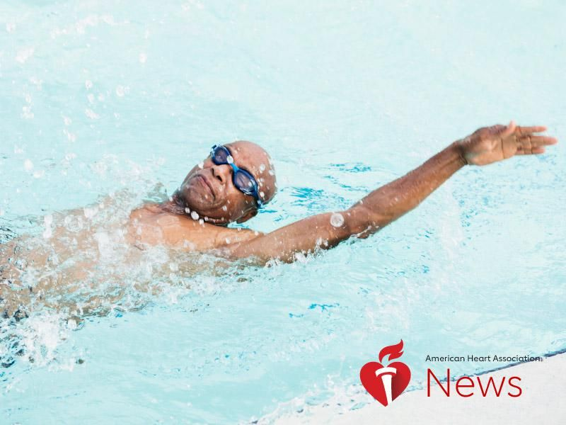 News Picture: AHA News: A Year of Committed Exercise in Middle Age Reversed Worrisome Heart Stiffness