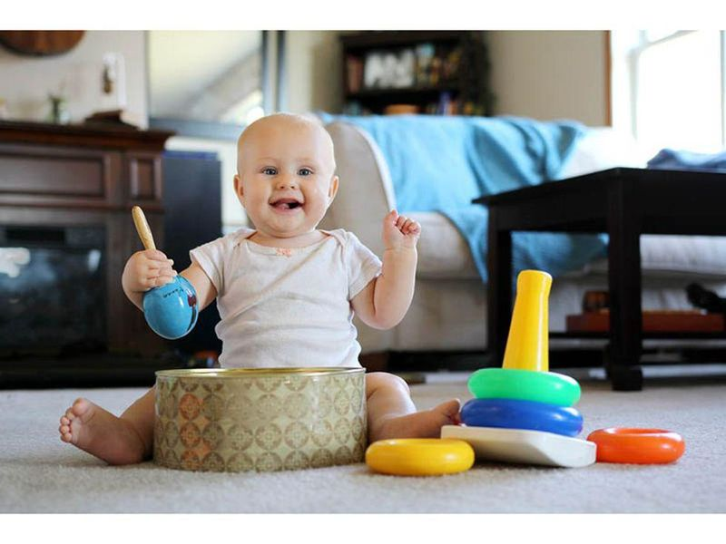 News Picture: Babies Know Best When It Comes to Play
