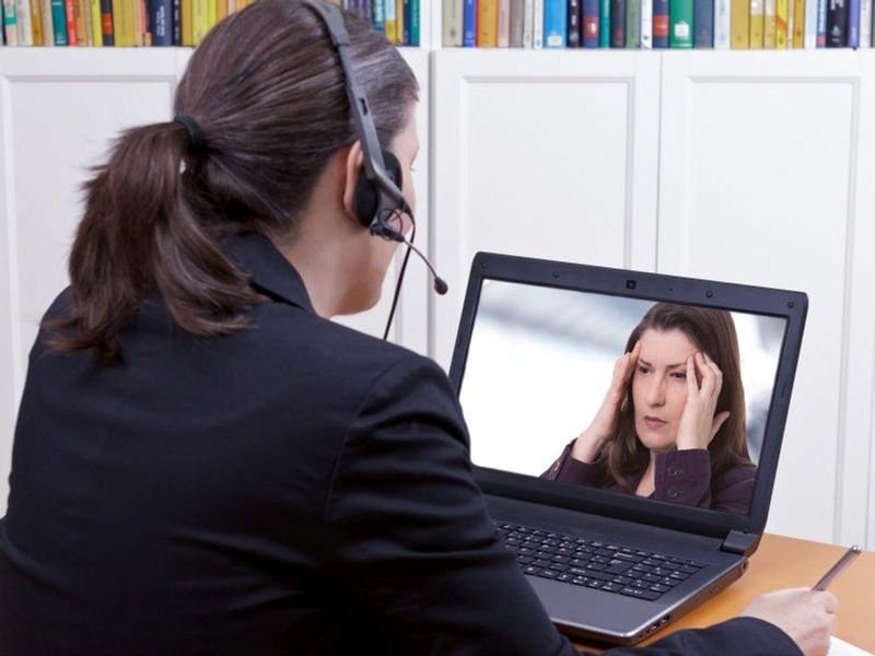News Picture: Many Addicts Turned to Telemedicine During Pandemic, But Does It Beat In-Person Care?