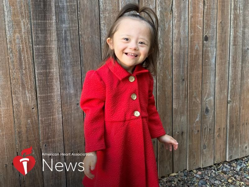 AHA News: A 3-year-old girl with Down syndrome is already a model and ambassador of the heart
