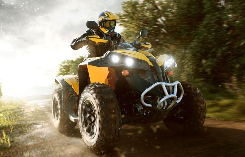 News Picture: Helmets Can Saves Lives in ATV, Dirt Bike Crashes
