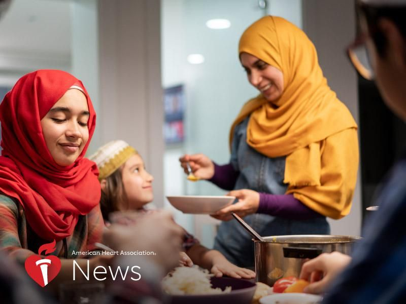 News Picture: AHA News: Fasting During Ramadan May Lower Blood Pressure – At Least Temporarily