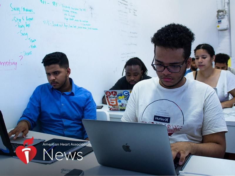 AHA News: Bronx-Based Program Is Teaching Coding and Web Development – And Changing Lives