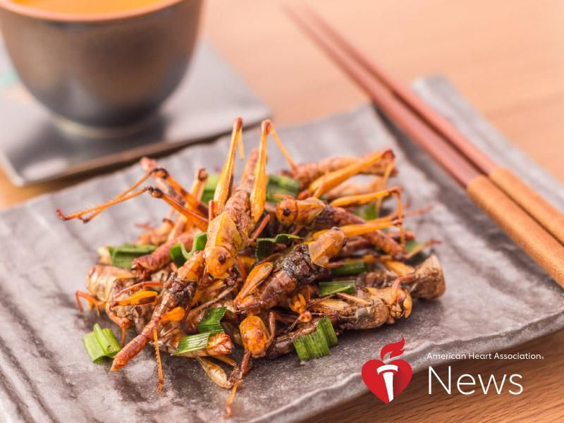 AHA News: Eating the Right Insects Can Provide Nutrition … And Might Be Good for the Planet