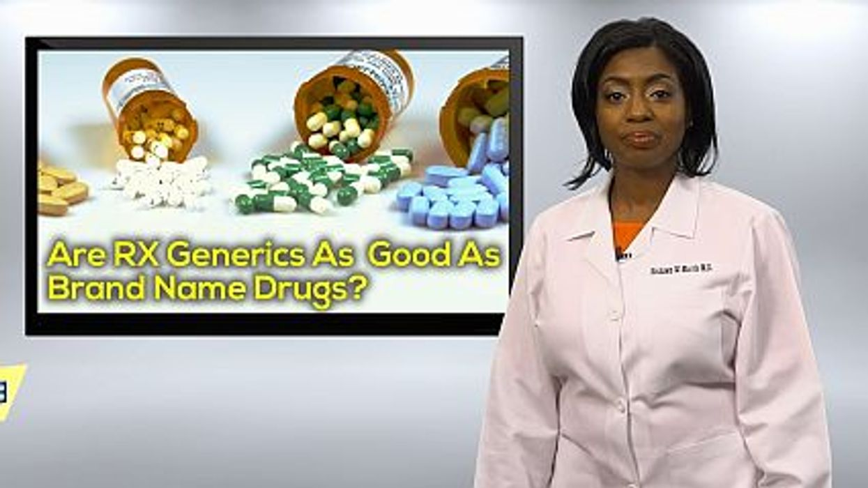 Are RX Generics As Good As Brand Name Drugs?