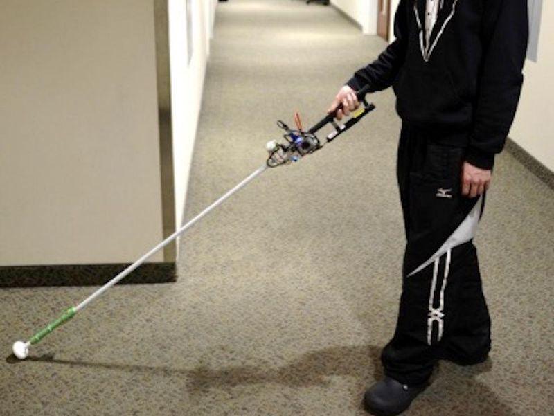 Robotics Bring the White Cane Into the 21st Century