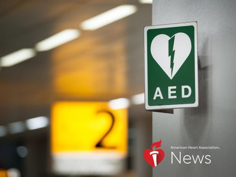 AHA News: Thanks to CPR and AEDs, Air Travelers Have Higher-Than-Average Survival Rates From Cardiac Arrest