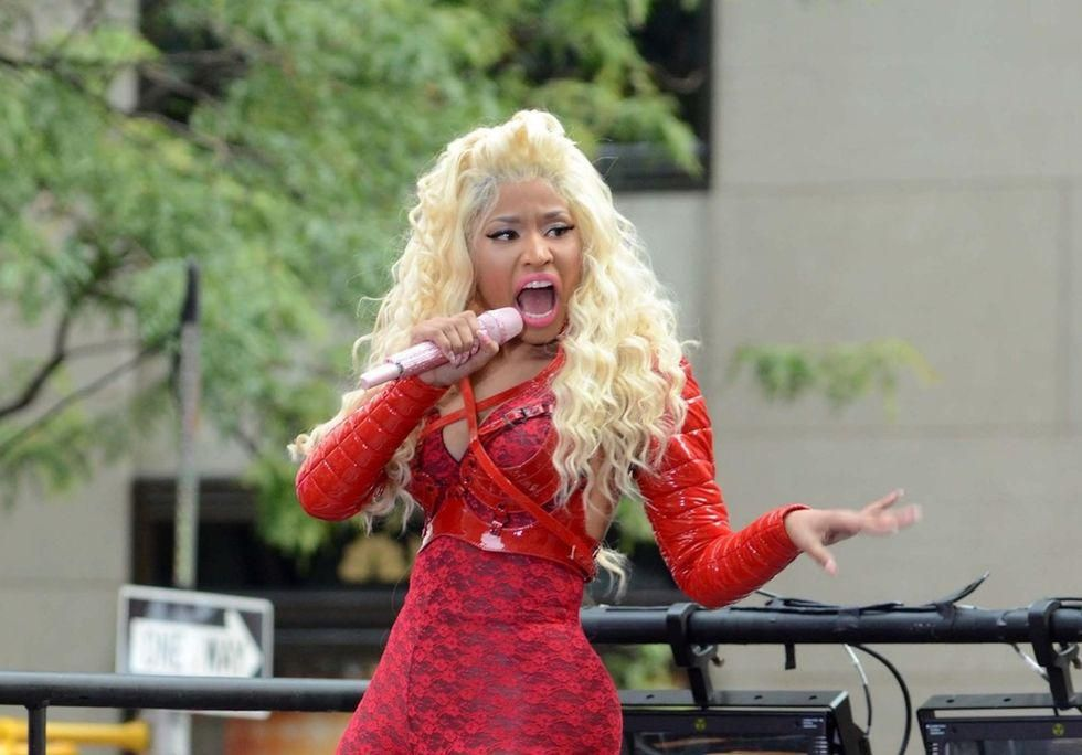 News Picture: White House Offers Nicki Minaj a Call After She Balks on COVID Vaccine