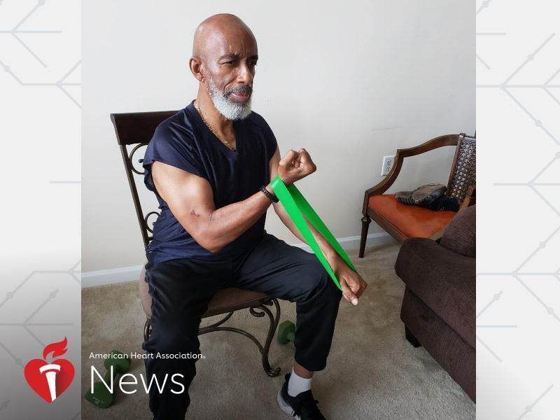 News Picture: AHA News: Fitness Didn't Keep Him From Heart Problems or COVID-19, But It Did Help Him Recover